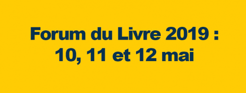 Forum du livre saint louis 2019